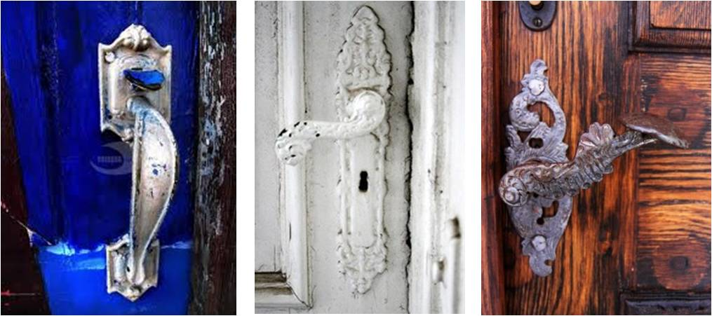 door knobs | The Funkaditional Stylist